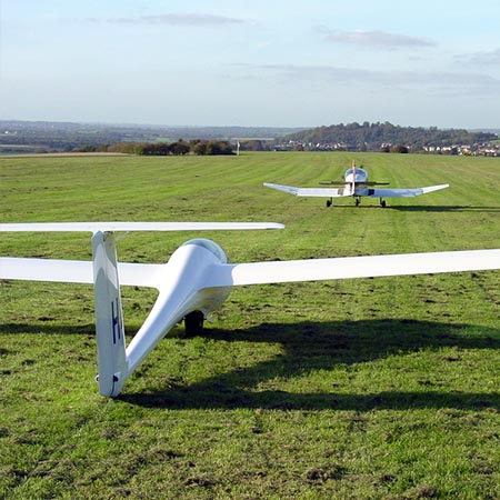 Flexible Single Aerotow Glider Flying Experience – £100 at Red Letter Days