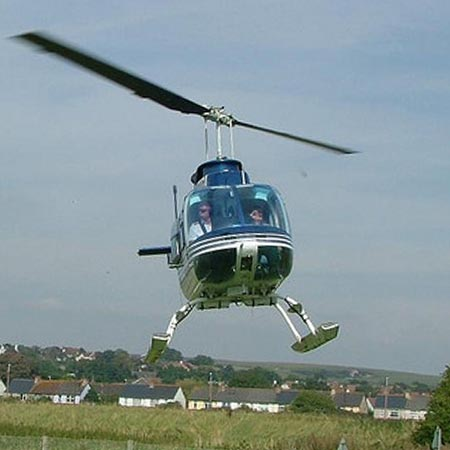Flexible Helicopter Pilot Training Day Course – £149 from Into The Blue