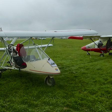 Flexible Microlight Taster Flying Experience – £59 at Into the Blue