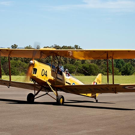 Flexible 40 Minute Vintage Biplane Flying Lessons – £289 at Experience Mad