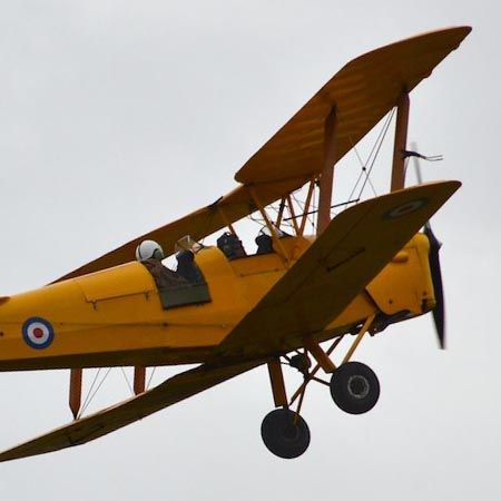 Surrey – Tiger Moth Taster Lesson – £159 at Experience Days