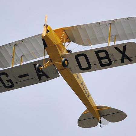 Flexible Tiger Moth Taster Lesson – £180 at Red Letter Days
