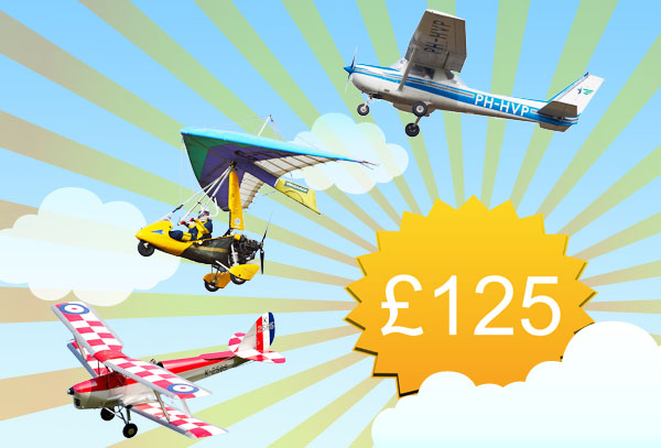 Win a free flying lesson worth £125