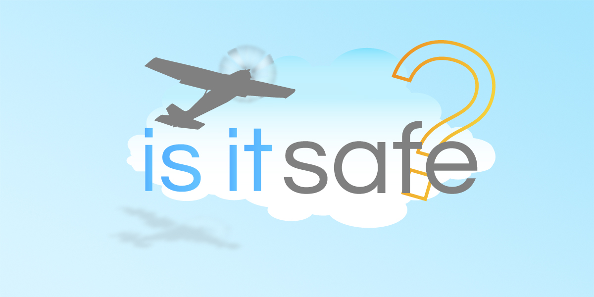 is flying safe?