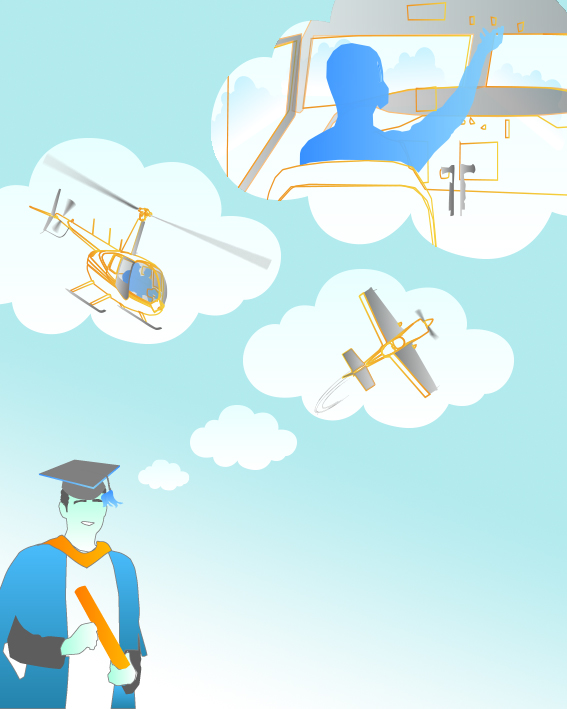 flying day dream