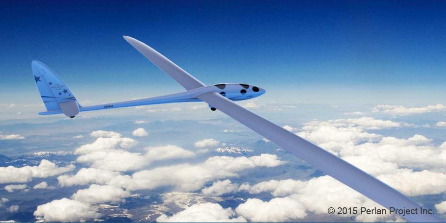 Perlan Project II record breaking glider