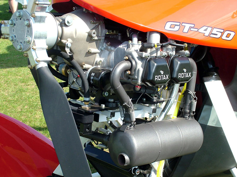 ROTAX microlight engine