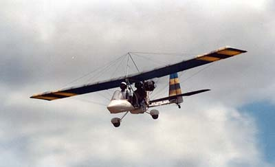Microlighting 3-axis ultralight © Ken Hodge 1994