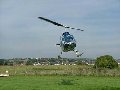 Helicopter pleasure flights © Les Chatfield 2005