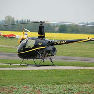 Helicopter R22 2-seater © Alex Wilson 2013