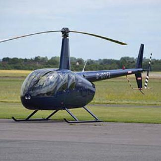 Helicopter Robinson R44 Flying Experience Gifts © Alec Wilson 2013