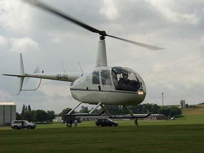 Helicopter R44 Raven Take off Experience © Jeroen Van Luin 2014