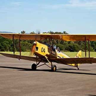 Vintage Flying Experience Days Military Tiger Moth © Virtual Wolf 2012