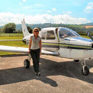 Plane Flying Experience © John Mclinden 2014