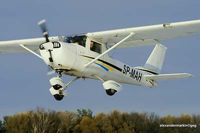 Plane Flying Experience © Aleksander Markin 2014