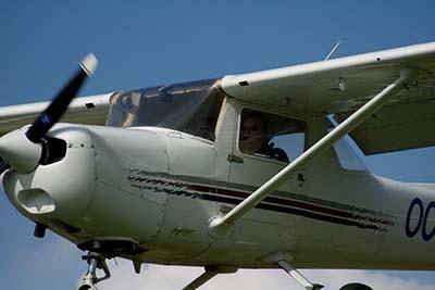 Plane Flying Experience  © Jelle VandeBeeck 2007