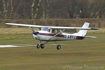 Plane Flying Experience Cessna 150 ©  Trevor Hannant 2013