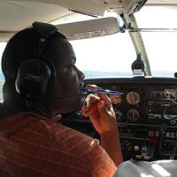 Plane Flying Experience Training Radio   ©  Peter Firminger 2006