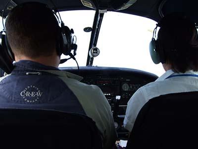 Plane cockpit flying lesson gift  ©  Simon Allardice 2007