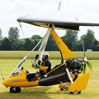 Microlight Weight-Shift flying experience day © Martin Pettitt 2008