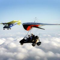 Fly NI Microlight flying lessons and experience days Northern Ireland