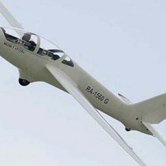Glider soaring lesson © Alexander Markin 2012