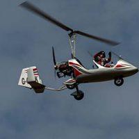 Gyrocopter Flying Experience &copy Alasdair 2014