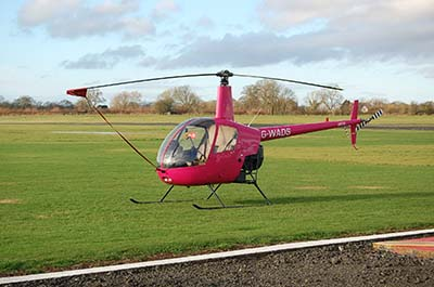 Helicopter flying lesson © Alec Wilson 2013