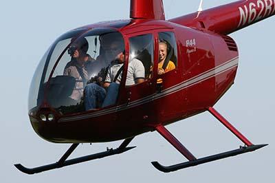 Helicopter flying © D Miller 2007