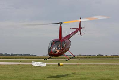 Helicopter flying experiences © D Miller 2009