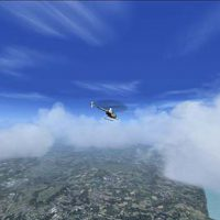 Helicopter in flight © Les Chatfield 2008