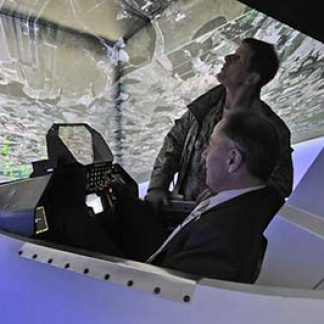 Flight Simulator Gift Voucher  ©  NewJersey Nat Guard 2014