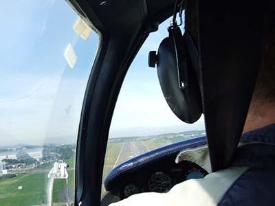Plane flying lesson gift © Simon Allardice 2007