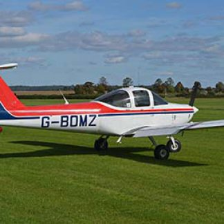 Plane flight trainging experience © Alan Wilson 2013