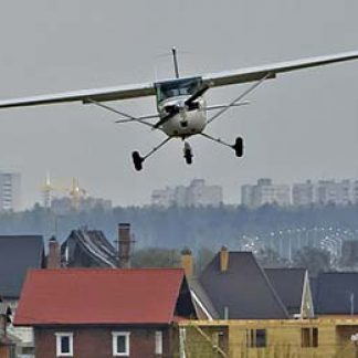 Plane experience flying lesson © Alexander Markin 2012