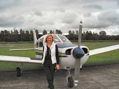 Plane flight experience lessons © John  Mclinden 2012