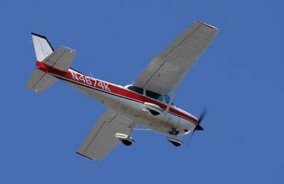 Plane flight experience trial lessons  © Josh Beasley 2009