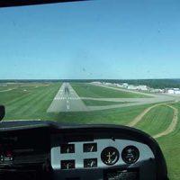 Plane flying lesson aerial view © Jason Woodhead 2011