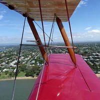 Vintage Tiger Moth Wing view © Bert Knottenbeld 2011