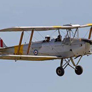 Vintage deHavilland Tiger Moth  biplane © Tony Hisgett 2011