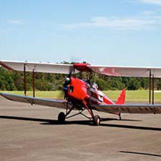 Vintage Planes De Havilland Tiger Moth  © Virtual Wolf 2012