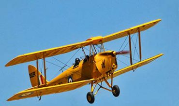 Surrey - Vintage Tiger Moth Taster Experience - £125 at Experience Days
