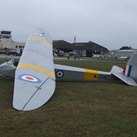 Glider vintage slingsby gliding © Les Chatfield 2010