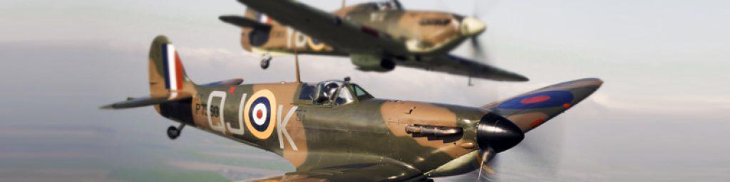 raf flying spitfires